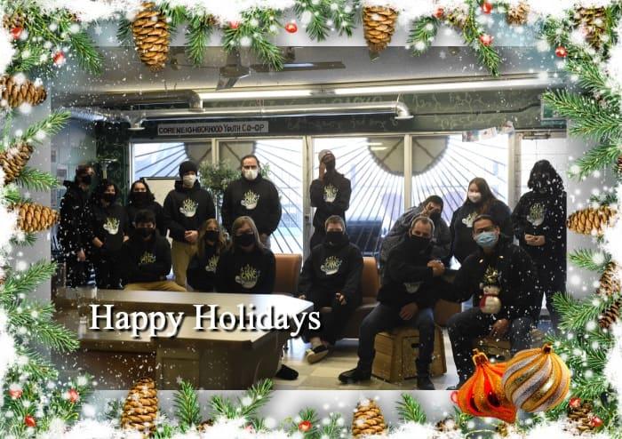 Happy holidays from CNYC